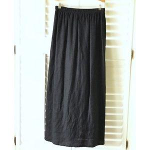 Linen Modern Maxi Skirt